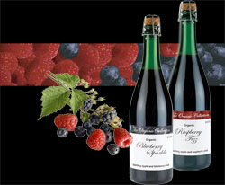 organic sparkling juices from Brittany